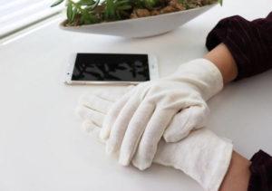 手湿疹の改善におすすめ綿手袋