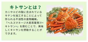 ヘルスマネージ大麦若葉青汁キトサン3